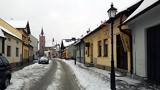 Pilzno - Węgierska Street