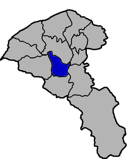 Location of Pingzhen