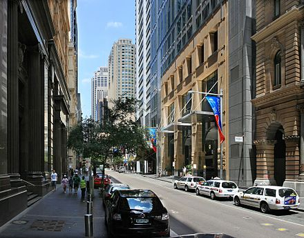 Pitt Street, a major street in Sydney CBD, runs from Circular Quay in the north to Waterloo in the south and is home to many large high-end retailers. Pitt st sydney.jpg