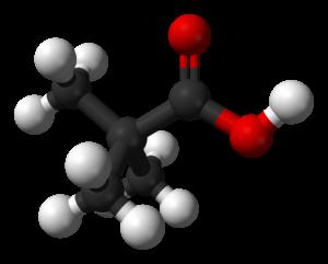 Pivalic acid - Image: Pivalic acid 3D balls