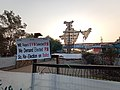 Placard at Shaheen Bagh infront of India model.jpg
