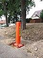 Plaisir - Rue Abel Guyet - Borne Danger.jpg