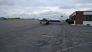 Smith Reynolds Airport - Image: Plane at Smith Reynolds