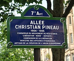 Image illustrative de l'article Allée Christian-Pineau