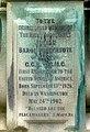 Plaque on Baron Pauncefote memorial - geograph.org.uk - 1363099.jpg