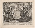 Plate 35- The Batavians Become Afraid and Begin Peace Talks, from The War of the Romans Against the Batavians MET DP862861.jpg