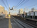 Platform of Sanyo-Tarumi Station 5.jpg