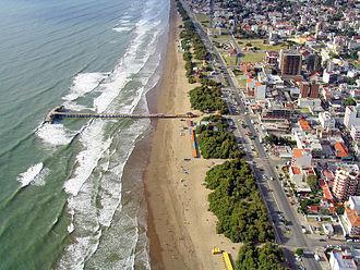 Santa Teresita, Buenos Aires - Image: Playa Aereo