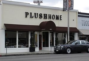 Nina Petronzio - Nina Petronzio's flagship showroom (Plush Home) is located in the heart of the Melrose Place fashion district on Melrose Avenue in West Hollywood, California