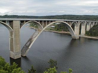 Jaroslav Josef Polívka - Podolsky Bridge