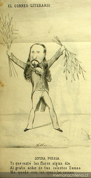 Antonio Smith (artist) - Eusebio Lillo, author of the Chilean National Anthem