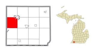 Pokagon Township, Michigan Civil township in Michigan, United States
