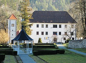 Polhov Gradec - Image: Polhov Gradec Manor Slovenia
