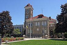 Polk County Courthouse, Dallas, Oregon (180924761).jpg