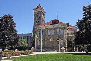 Palacio de justicia del condado de Polk en Dallas
