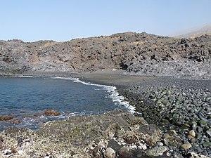 São Jorge, Cape Verde - Beach Ponta da Salina.