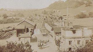 Pontrilas railway station