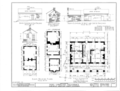 Pope-Spragins House, 407 Echols Avenue, Huntsville, Madison County, AL HABS ALA,45-HUVI,4- (sheet 1 of 3).png