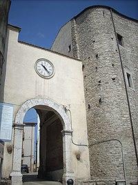 Porta del Museo di Taurasi.JPG