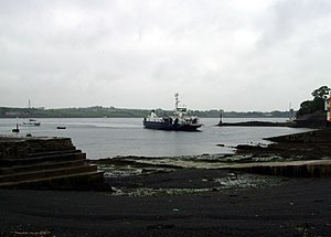 Portaferry - The Portaferry to Strangford Ferry from Strangford