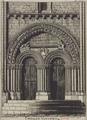 Portail de l'église de Vouvant, par Octave de Rochebrune.png