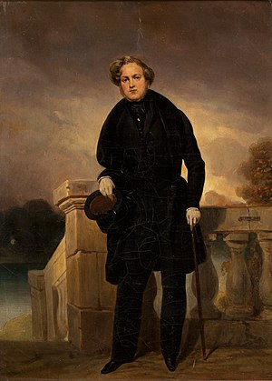 Pierre-Joseph Dedreux-Dorcy - Portrait of Count Charles-Edgar de Mornay (1803-1878), undated, now at the Musée d'Orsay