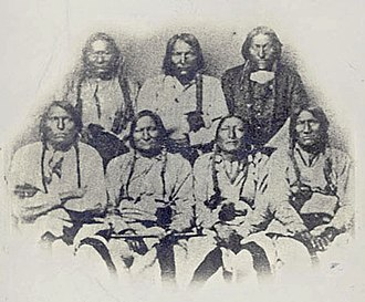 John Chivington - A delegation of Cheyenne, Kiowa, and Arapaho Chiefs in Denver, Colorado on September 28, 1864