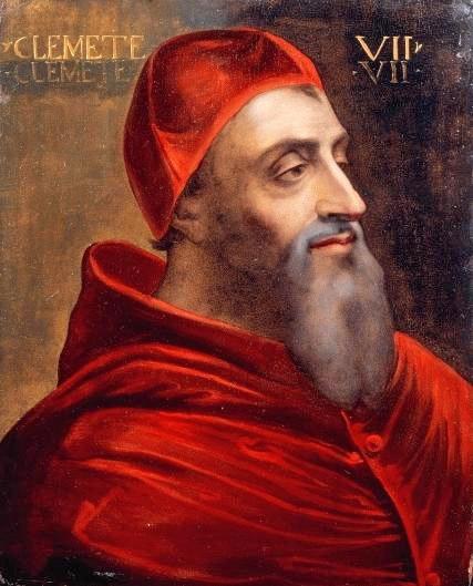 Portrait of Giulio de Medici (1478 - 1534) Pope Clement VII