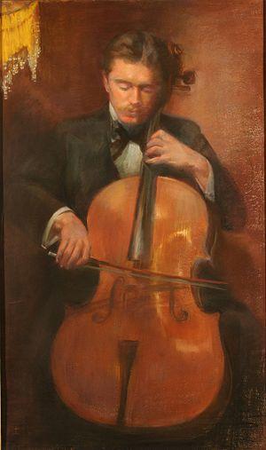 Leo Stern - Drawing by Sophie Stern, 1895