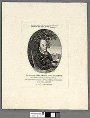 The Reverend John Lloyd Rector of Caerwis