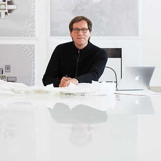 Thomas Phifer - Thomas Phifer in his New York City offices.