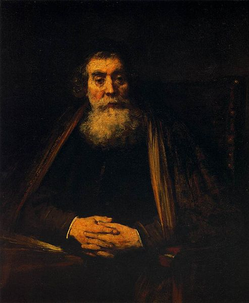 File:Portrait of an Old Man, Rembrandt.jpg