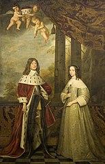 Friedrich Wilhelm (1620-88), Elector of Brandenburg, and his wife Louise Henriette (1627-67), Countess of Orange-Nassau