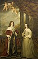 Portret van Friedrich Wilhelm (1620-88), keurvorst van Brandenburg, met zijn vrouw Louisa Henriette (1627-67), gravin van Nassau Rijksmuseum SK-A-873.jpeg
