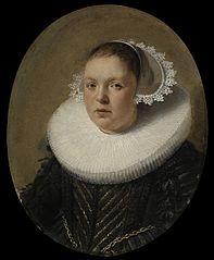 Portrait of Josina Jansdr. de Carpentier (1601-34)