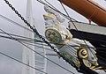 Portsmouth MMB 47 Royal Naval Dockyard - HMS Warrior and the Spinnaker.jpg