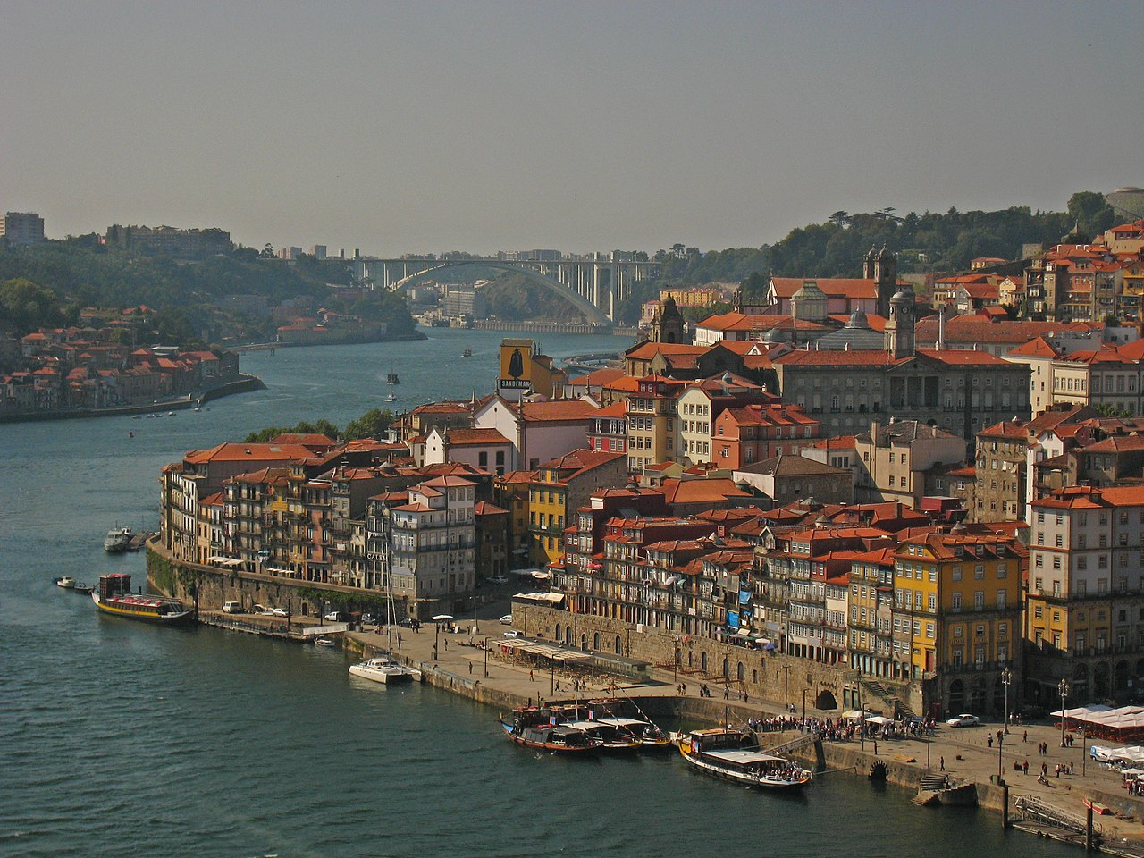 Portugal - Porto - View from Ponte Luis I (5307745386).jpg