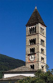 La chiesa di San Vittore Mauro