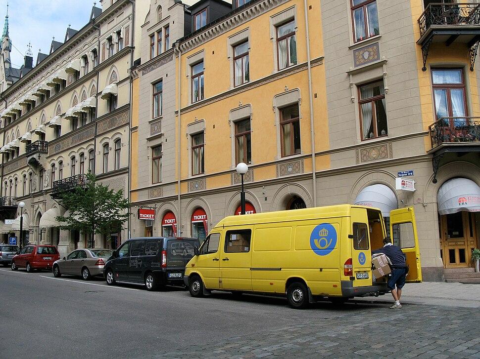 Posten på Storgatan, Sundsvall (Sverige)