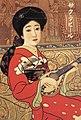 Poster of Sakura Beer 2 by Kitano Tsunetomi.jpg