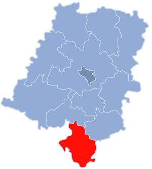 Głubczyce County - Image: Powiat głubczycki