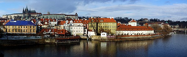 Prague - view from Charles Bridge (by Pudelek)