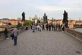 Prague Praha 2014 Holmstad Karlsbrua Charles Bridge Karluv most.JPG