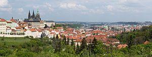 Praha Panorama from Petřín 20170430.jpg