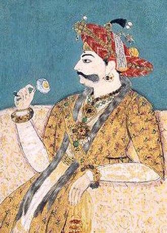 Singh - Maratha ruler Pratap Singh of Thanjavur (ruled 1739-1763)