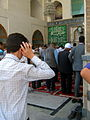 Prayers of Noon - Grand Mosque of Nishapur -September 27 2013 17.JPG