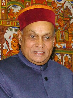 Prem Kumar Dhumal Indian politician