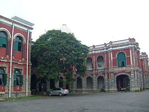 Presidency College, Chennai - The main buildings of the Presidency College, Chennai