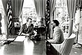 President Richard Nixon and Singer Ray Charles Meeting in the Oval Office.jpg