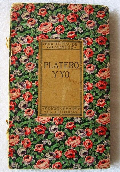 Centenario primera edición de Platero y Yo
